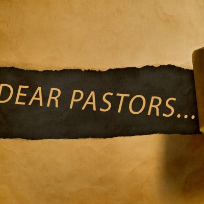 A Blog: An Open Letter to the Pastor Who's Thinking of Quitting